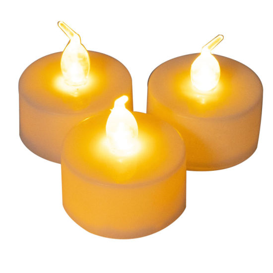 Battery Operated Flameless Tea Light Color Changing LED Candle