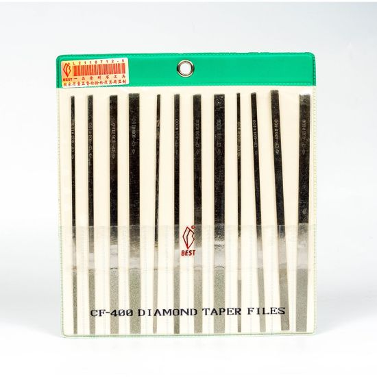 Diamond Files Kit Designed for General Use in Tool and Die Making