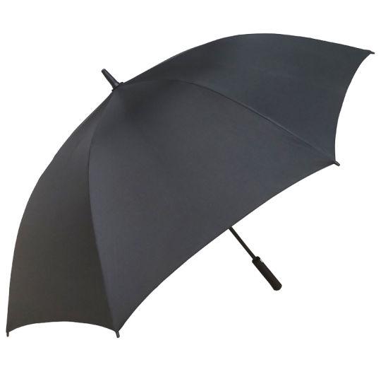 Black 30 Inch 8 Ribs Standard Windproof Golf Umbrella