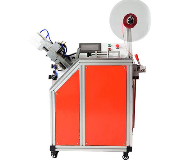 Wl-110 Ultrasonic Belt Fabric Ribbon Belt Fabric Tape Cutter Machine Ultrasonic Webbing Cutting Machine