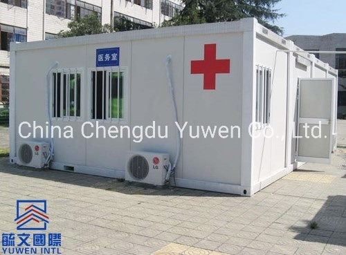 EPS Sandwich Panel Flat Pack Container House Clinic