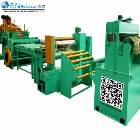 Combined Production Line Longitudinal Shearing Slitting Machine Line pictures & photos