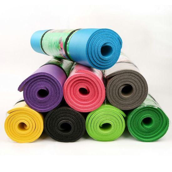 High Quality NBR Yoga Mat Waterproof Gym Yoga Mat Non-Slip Mat Exercise Floor Mat