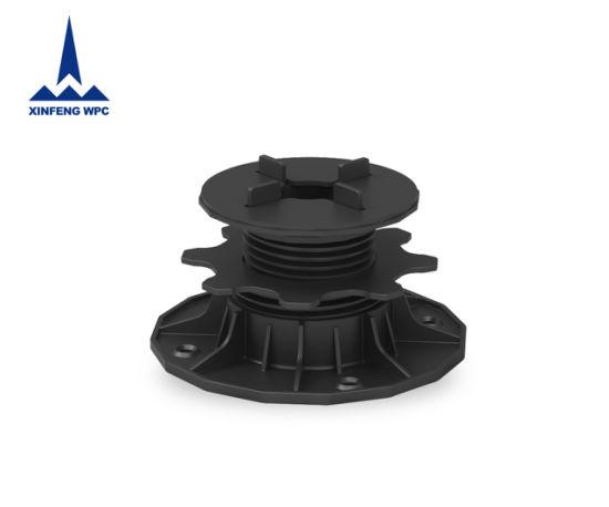 Custom-Made Adjustable Plastic Pedestals with Range 45-80mm for Slops