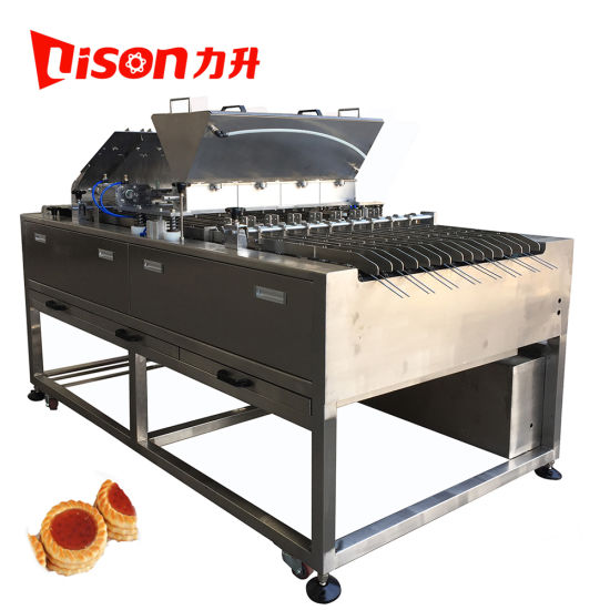 Soft Biscuit Chocolate and Jam Depositor Sandwich Biscuit Making Machine