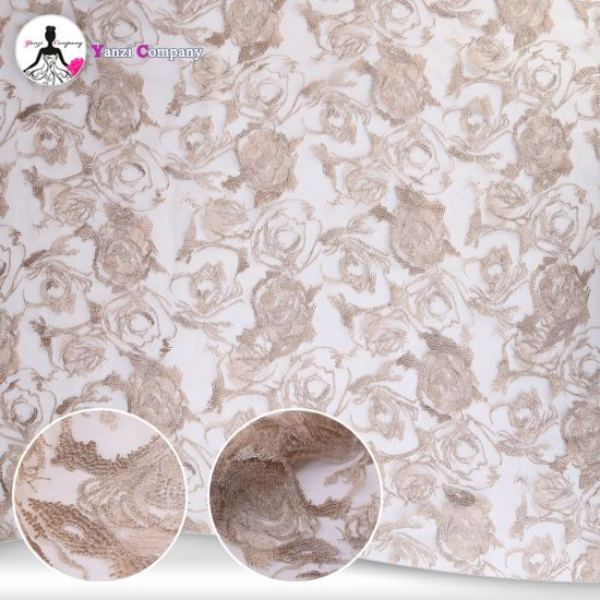 Wholesale High-Grade African French Lace Fabric Embroidery for Dress pictures & photos