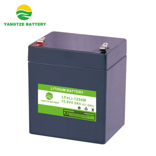 12V 4.5ah LiFePO4 Lithium Ion Battery with 5 Years Warranty