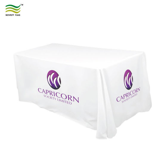 plastic table covers with logo