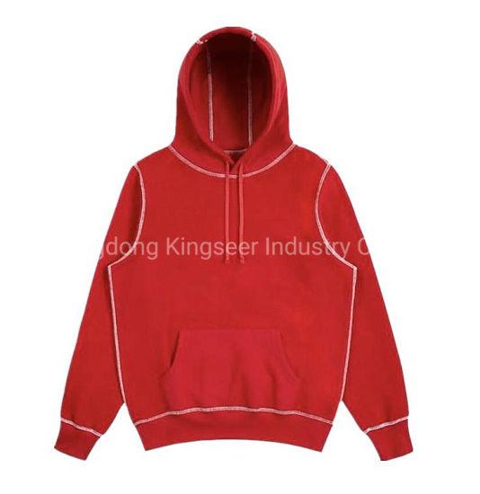 Fashion Streetwear Pullover Sweatshirt Custom Wholesale Plain Unisex Heavyweight Hoodies