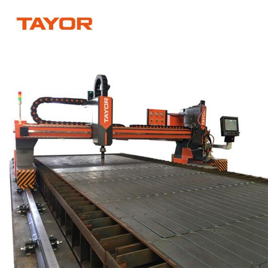 200A 300A 400A CNC Plasma Gantry Type High Precise Flame Cutter Cutting Machine for Steel
