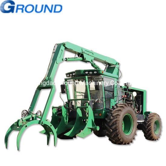 Sugarcane loader, wood loader, grabbing loader with powerful engine ,CE, EPA approved