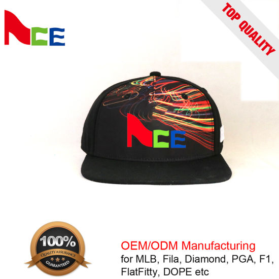 5131e6d3c63 Custom 30% Wool 70% Acrylic Sport 6 Panel Embroidered Snapback Hat pictures    photos