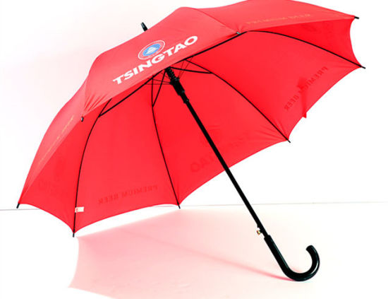Cheap Custom Printed Promotional Straight Umbrella/Different Size Available