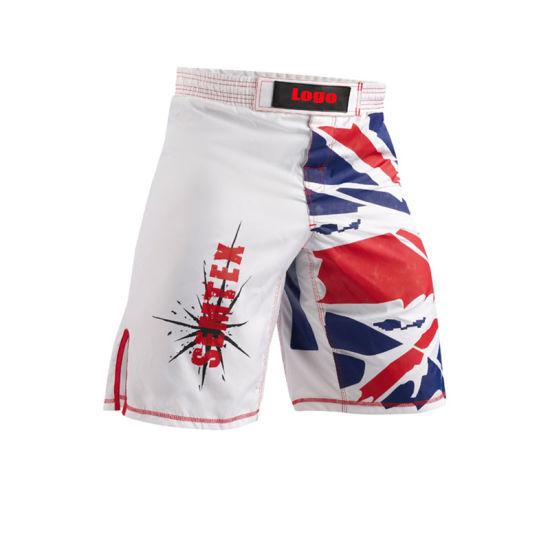 Wholesale White Design Custom Logo MMA Sportswear for Infighter