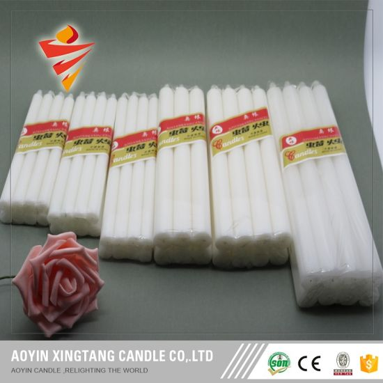 White Lighting Candle Factory From China