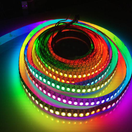 SMD5050 IC Ws2811 5V Flex 144LED Ws2812b RGB LED Strip