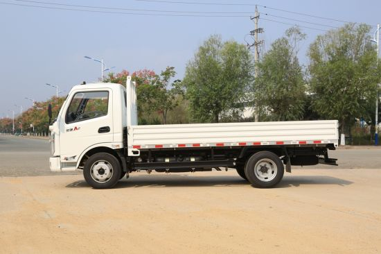 Waw 3 Ton Diesel Light Cargo Truck with Single Cabin pictures & photos