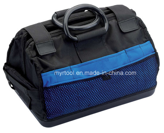 Export 25L Cantilever Tool Bag with Heavy Duty Plastic Base and Handles pictures & photos