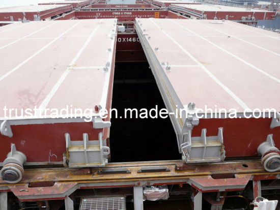 Marine Steel Cargo Ship Roll Stowing Hatch Cover / Ship Hatch Cover