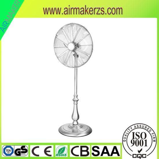 110-220V 50W Electric Metal Stand Fan Speed Air Flow Adjust SAA/CB/Ce