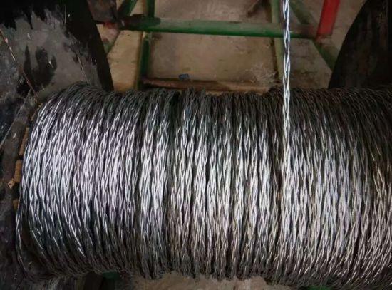 China Anti-Twisting Braided Galvanized Steel Wire Rope - China Wire ...
