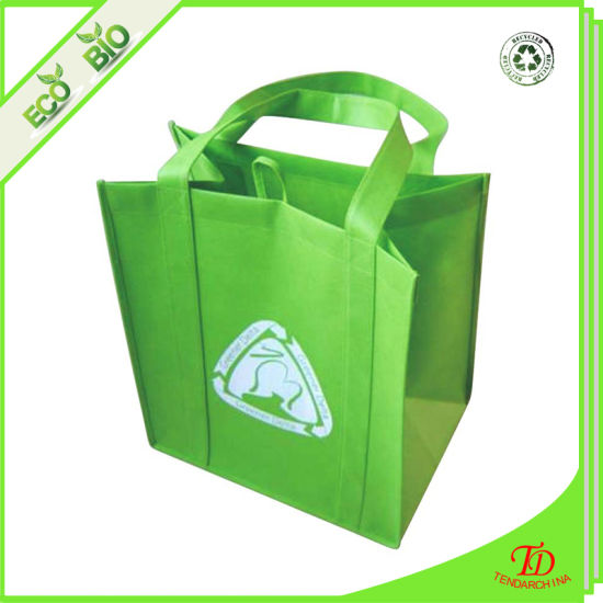 with Strong Handle Promotion Gift Bag Logo Printed Cheap Reusable Shopping Bag Grocery Non Woven Tote Bag Cooler Bag Canvas Cotton Bag Fabric Garment Bag
