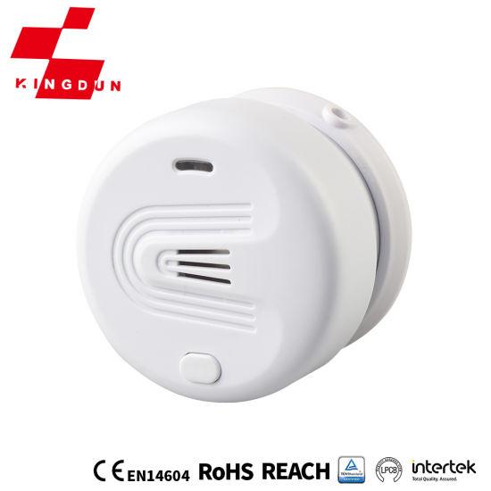 5 Years Battery Home Fire Alarm Electro-Optical Type Wireless Smoke Alarm