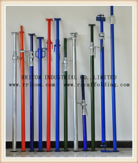 Painted Middle Duty Adjustable Steel Post Shore Prop pictures & photos