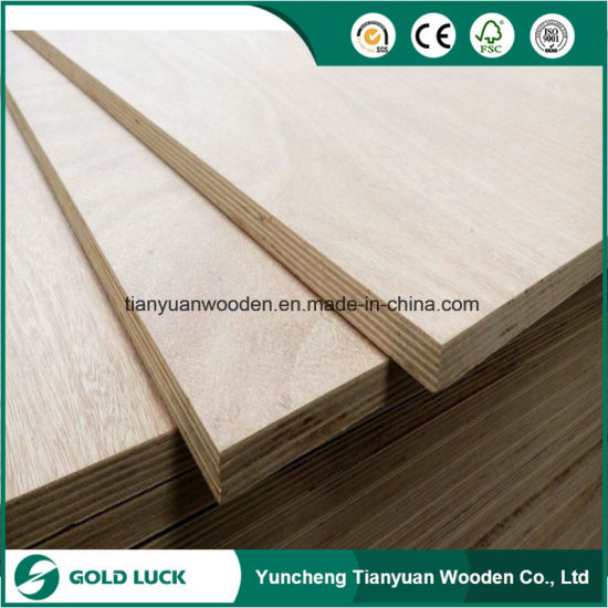9mm Okoume Faced Commercial Plywood pictures & photos