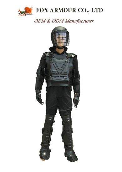 Black Stab Resistant Anti Riot Gear Anti Riot Suit Supplier