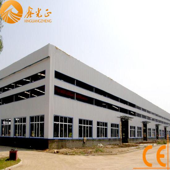 Prefabricated Steel Construction Warehouse-Ce (SSW-13)