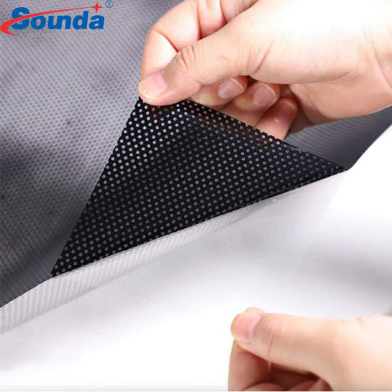 Window Graphic PVC Perforated Vinyl Glass Sticker Window Film One Way Vision for Ecosolvent