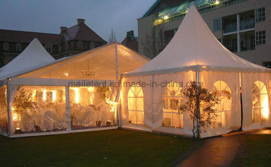 online store c9d07 195a0 Waterproof Canvas Permanent Aluminium Wedding Party Marquee Tent
