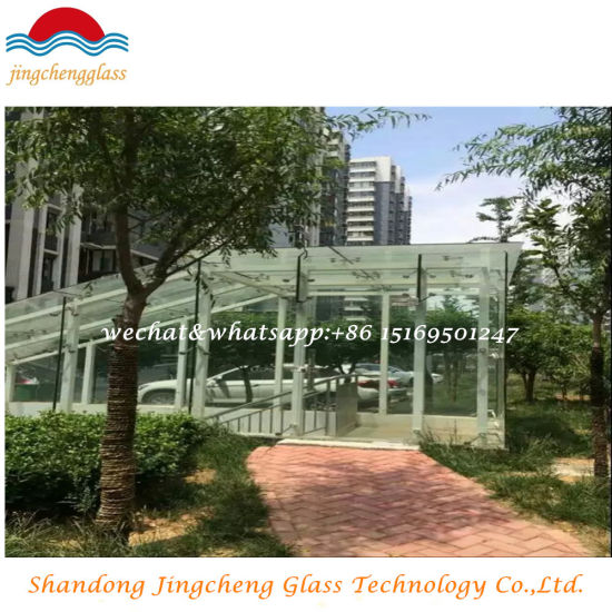 Clear Tempered Laminated Glass in Building
