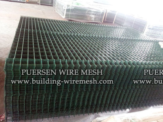 China PVC Coated Welded Wire Mesh Fence Panel - China Wire Mesh ...