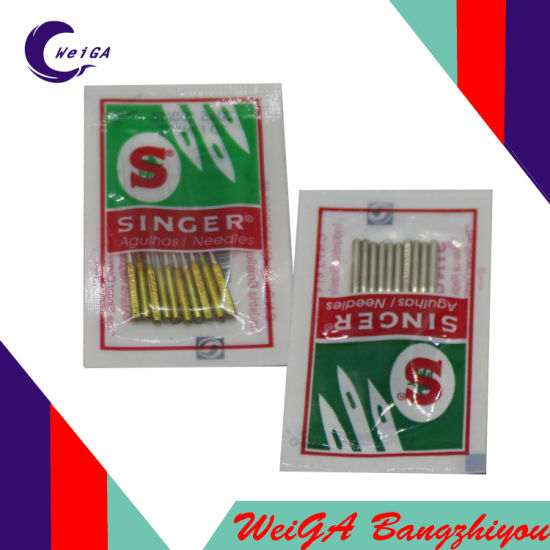 China Sewing Machine Needle Singer Brand 40 And 40 China Magnificent Sewing Machine Needle Brands