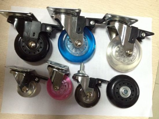 Small Sizes of Plastic PP Solid Tyre Furniture Caster Wheel pictures & photos