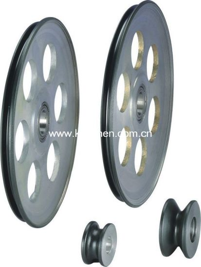 Ceramic Coating for Wire Guide Pulley/Aluminum Pulley/Roller pictures & photos