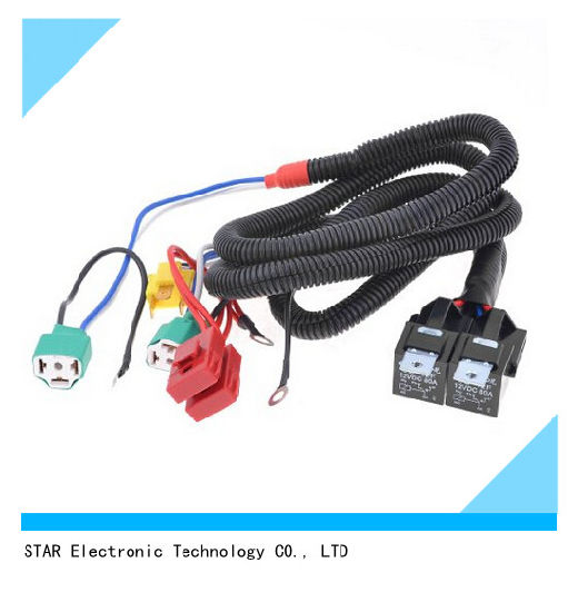 china h4 30a electrical auto headlight light bulb wire harness rh starconnect en made in china com