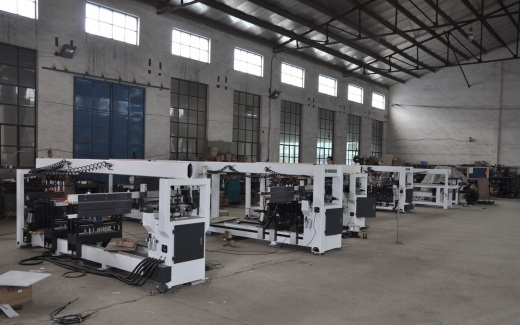 Two Rows Multi Spindle Wood Boring Machine pictures & photos