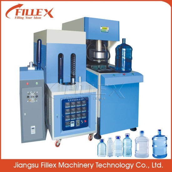 Semi Automatic 5 Gallon Bottle Making Machine Pet Blow Molding Machine Blowing Machine for Plastic Bottles