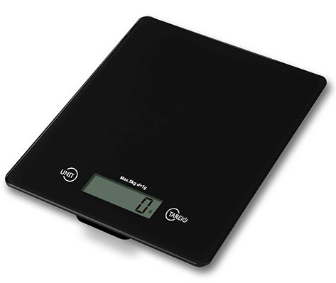 Glass ABS Digital Kitchen Scale with 5 Kg (FK425)
