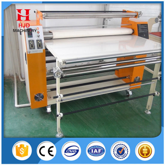 Roll Heat Press Machine for Sublimation Transfer Printing pictures & photos