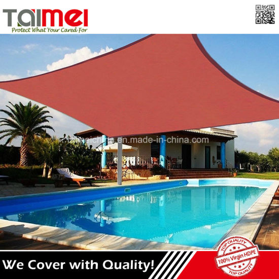 HDPE Outdoor Patio Sun Shade Sail Awnings pictures & photos