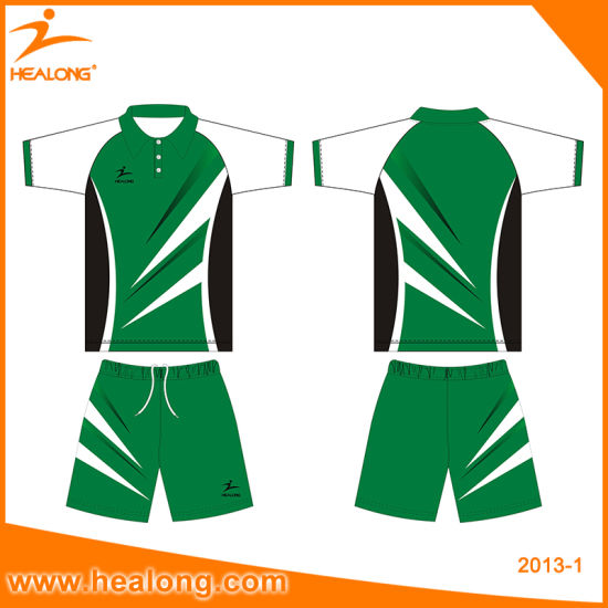 Healong Sale Sublimation Custom Table Tennis Jersey Clothing pictures & photos