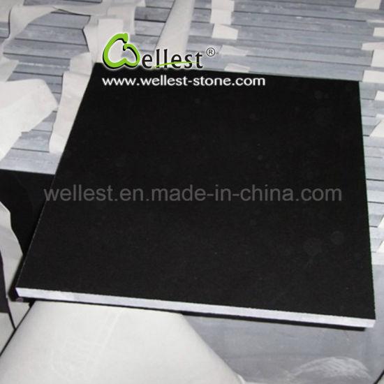 Natural Stone Floor Tile Polished Finished G511 Black Granite