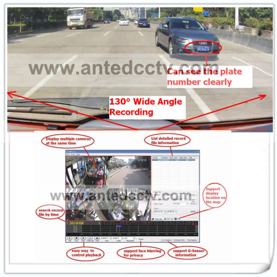 High Quality HD 1080P Security Camera Systems for Vehicles, Bus, Cars, Taxis, Vans, Trucks, Fleets, Transport Vehicles pictures & photos