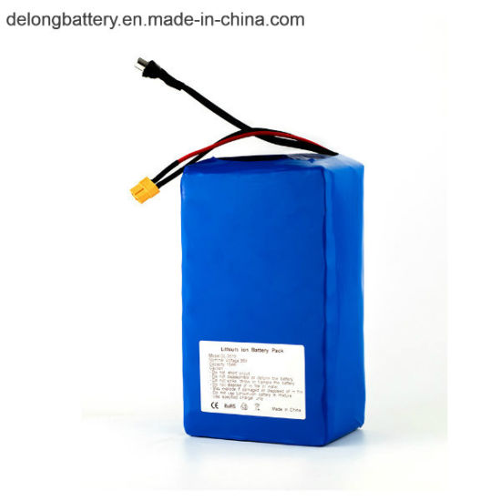 Deep Cycle Lithium Battery 36V 15ah Electric Bike Battery Pack pictures & photos