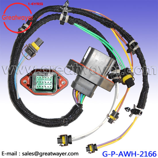 china caterpillar c9 engine injector fuel wiring harness 330d 336d rh greatwayer en made in china com LS1 Fuel Injectors Fuel Injector Wiring Diagram