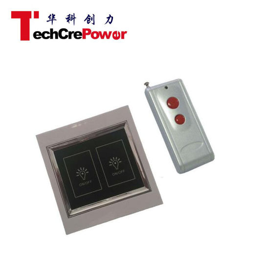 Zabc86-2 Home Wireless Remote Controlled Wall Switch pictures & photos